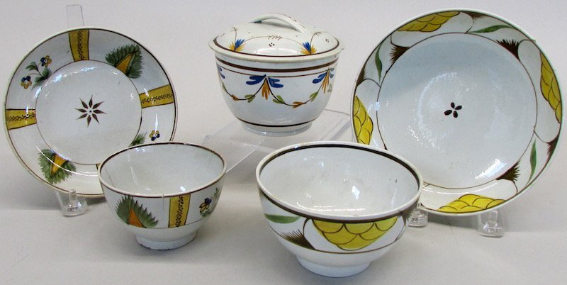 Group of Continental Creamware