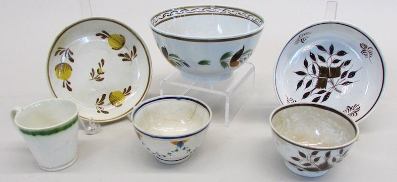 Group of Continental Creamware - 2