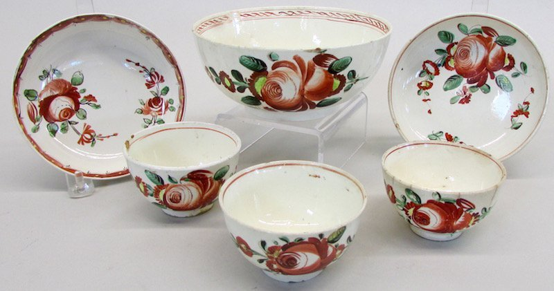 Group of Continental Creamware - 3