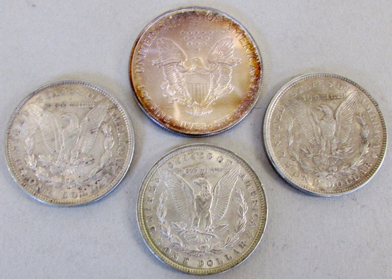 Lot of American Silver Coins - 2