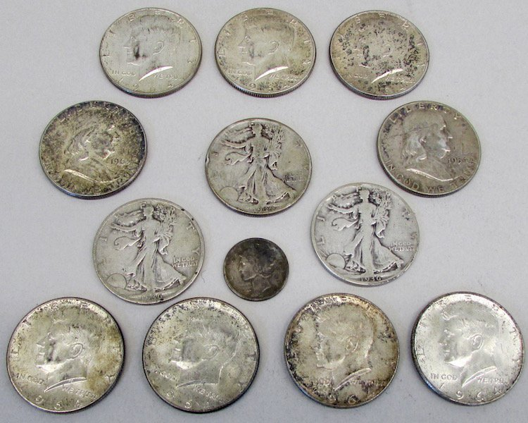 Lot of American Silver Coins - 3