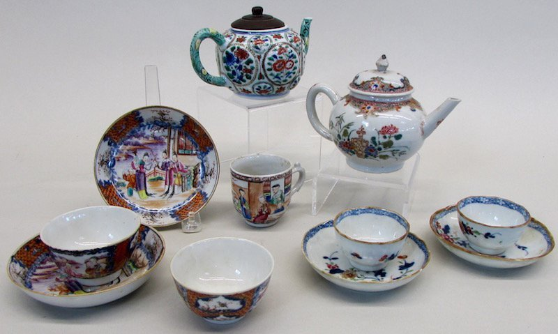 Group of Chinese Tea Wares