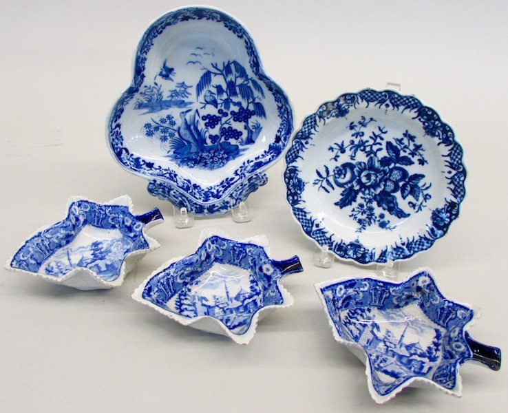 Group of Blue And White Table Wares
