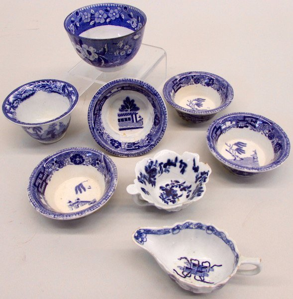 Group of Blue And White Table Wares - 3