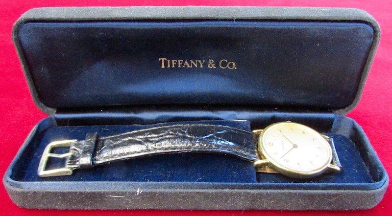 Tiffany Men's 14K. Wristwatch