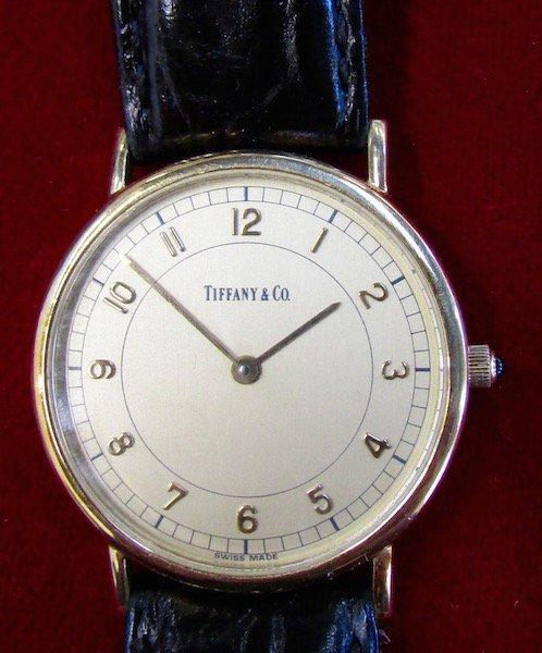 Tiffany Men's 14K. Wristwatch - 2
