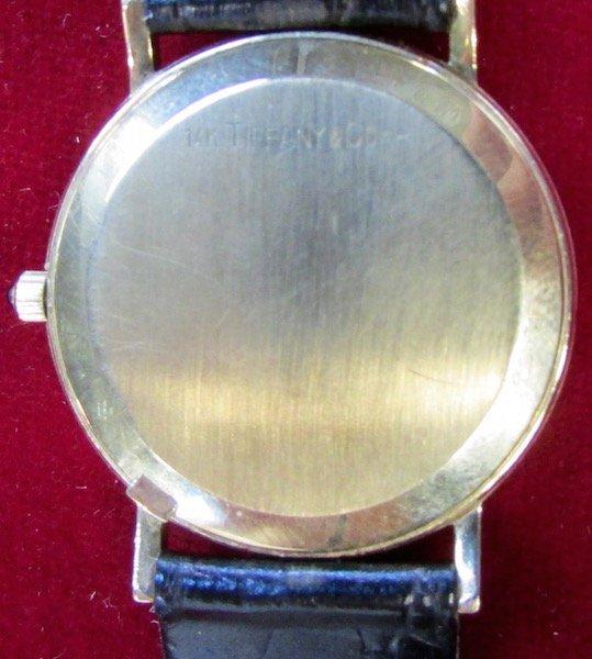 Tiffany Men's 14K. Wristwatch - 3