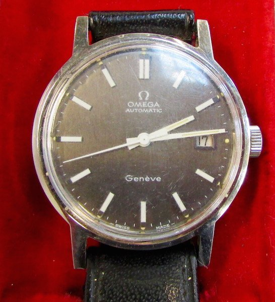 Cased Omega Watch Together with a Bulova Watch - 2