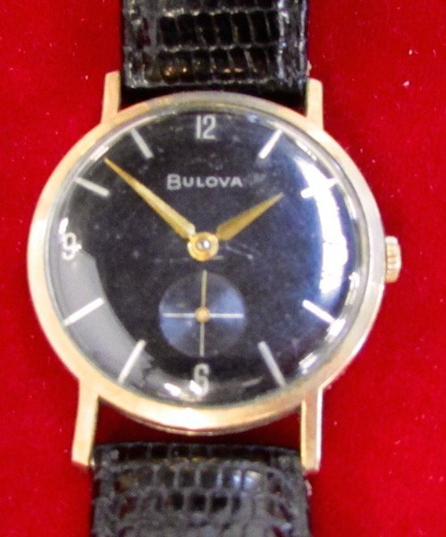 Cased Omega Watch Together with a Bulova Watch - 3