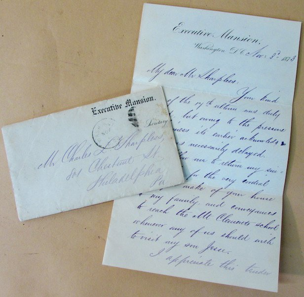 Ulysses Grant, Autographed Letter as President