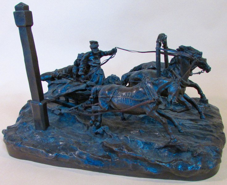 "Vasily Grachev ""The Milepost"" Bronze Troika"