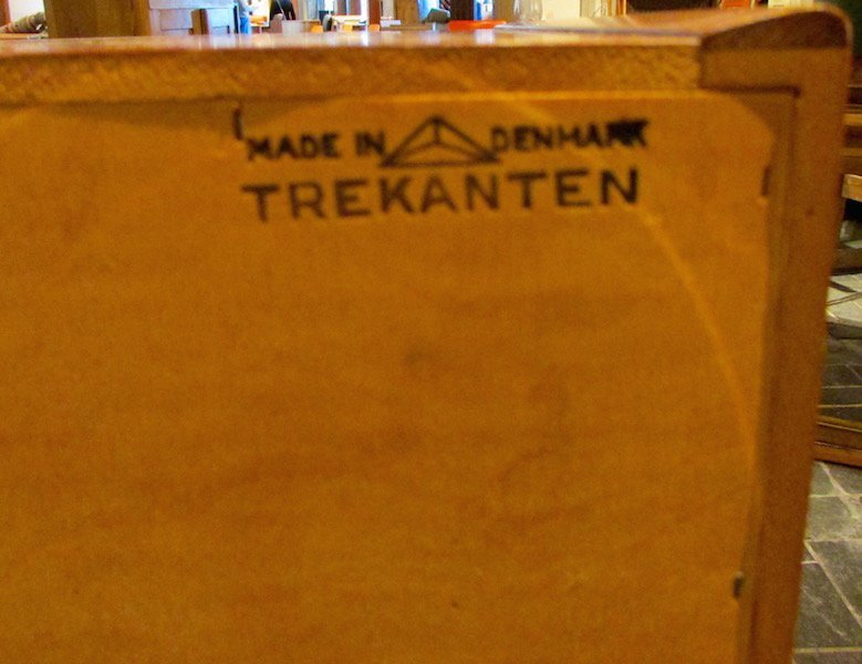 "Danish Teak ""Trekanten"" 5 Drawer Chest - 5"