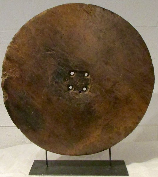 Spanish Colonial Wooden Wagon or Cart Wheel