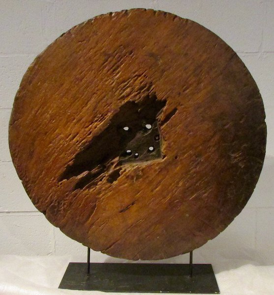 Spanish Colonial Wooden Wagon or Cart Wheel - 5