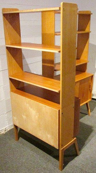 2 Danish Open Teak Bookcases - 4
