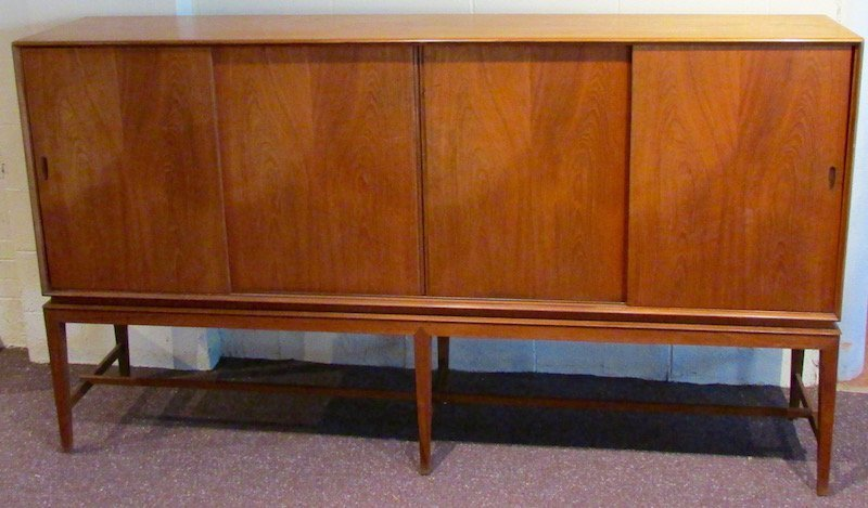 Danish Teak Credenza, Attributed to Borge Mogensen