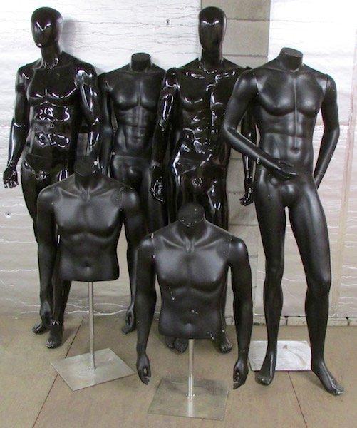 Group of Adjustable Mannequins
