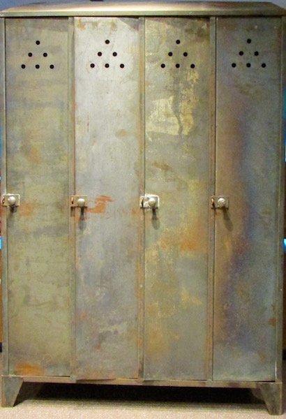 4 Steel Industrial Lockers