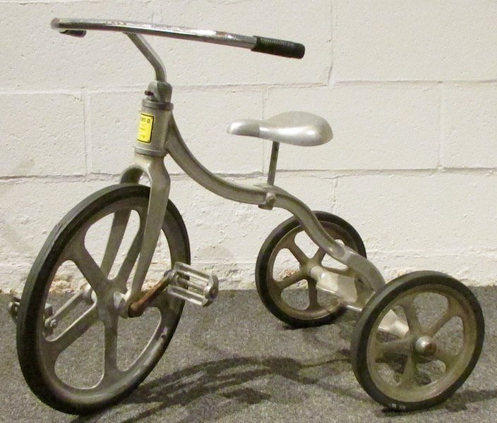 1950s Anthony Brothers 'Convert-O' Aluminium Tricycle