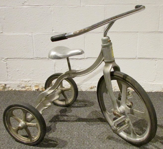 1950s Anthony Brothers 'Convert-O' Aluminium Tricycle - 2