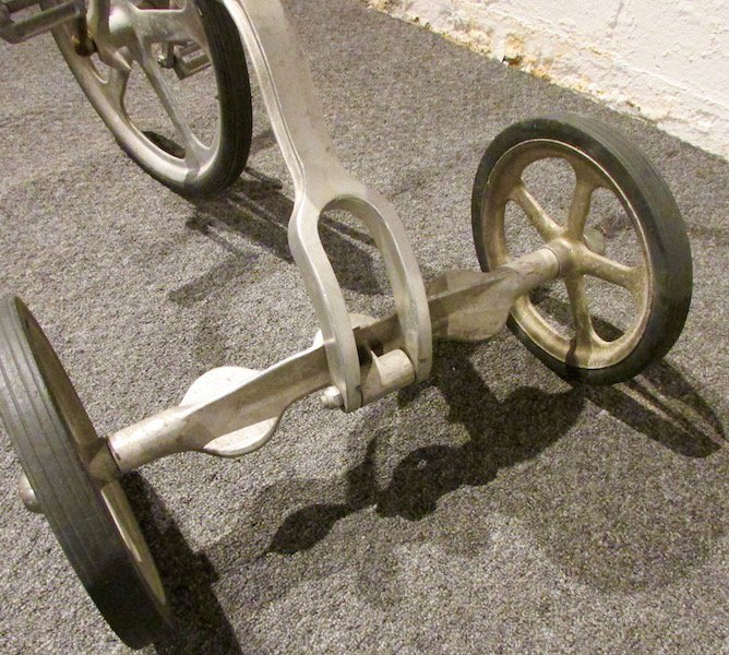 1950s Anthony Brothers 'Convert-O' Aluminium Tricycle - 6