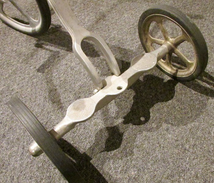 1950s Anthony Brothers 'Convert-O' Aluminium Tricycle - 7