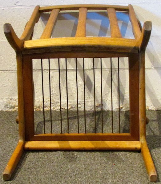 Pair of Danish Oak Upholstered 1970's Open Armchairs - 5