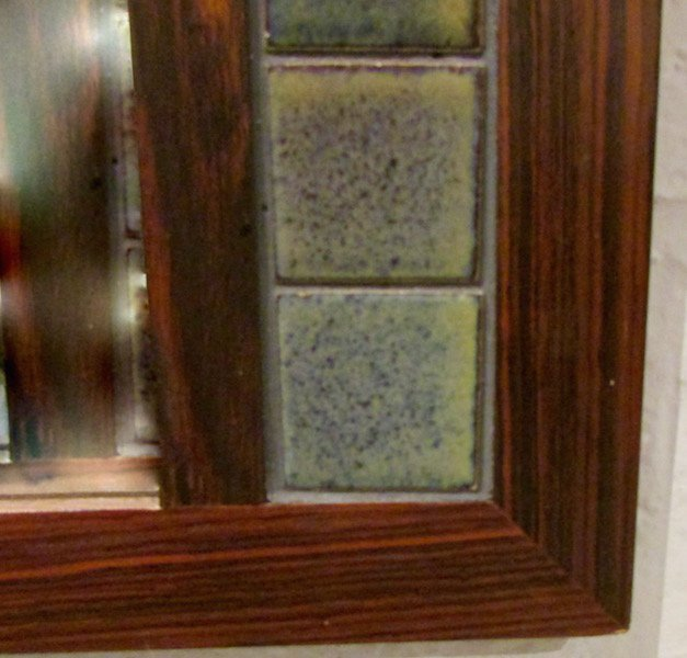 Danish Rosewood Tiled Hall Table and Mirror - 6