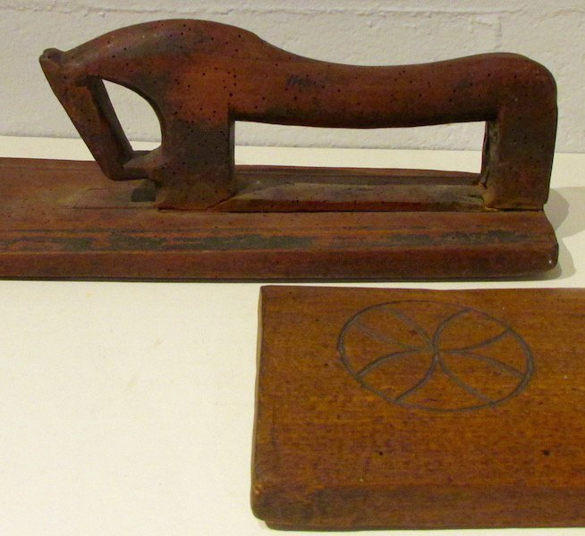 2 19th Century Scandinavian Horse Form Smoothing Boards - 3
