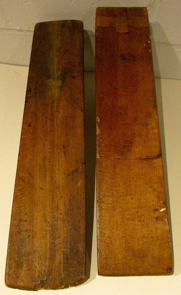 2 19th Century Scandinavian Horse Form Smoothing Boards - 6