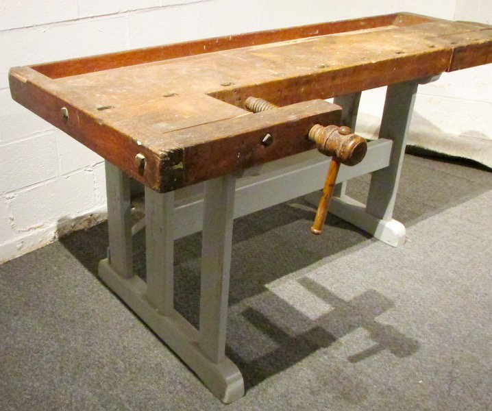 Carpenters Wood Work Bench with Vises - 2