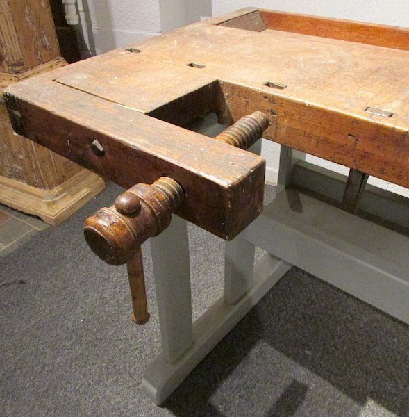 Carpenters Wood Work Bench with Vises - 3