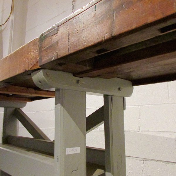 Carpenters Wood Work Bench with Vises - 5