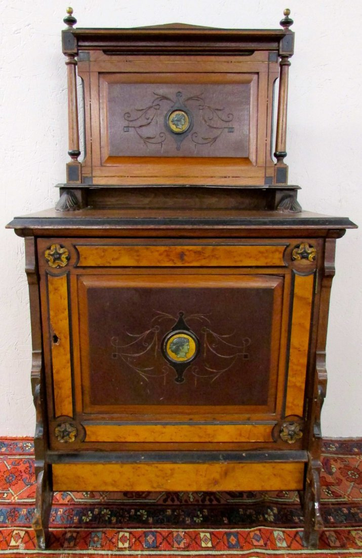 Ebonized Music Cabinet Attr. to Herter Brothers
