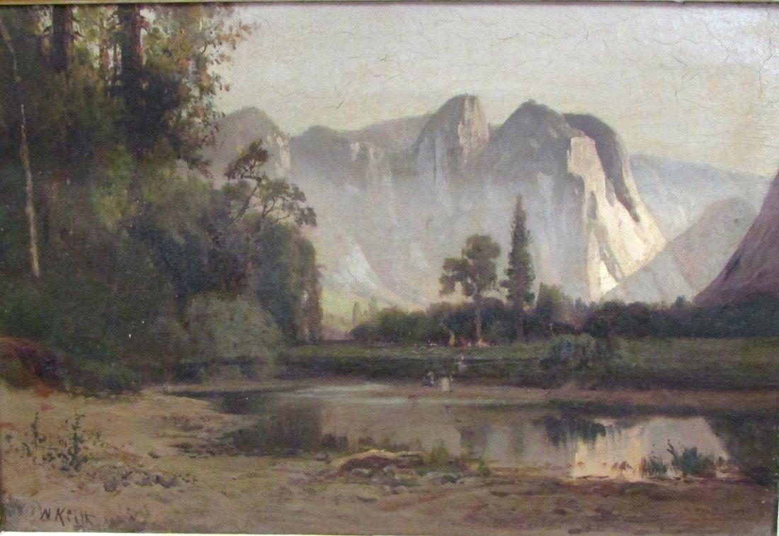 William Keith (1838 - 1911) Mountain Landscape