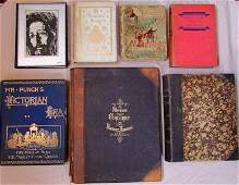 Group of 9 Illustrated Volumes