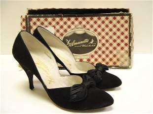 Marilyn Monroe's Black Suede Shoes