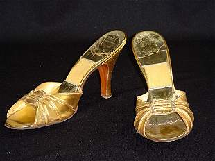 Marilyn Monroe's Gold Shoes