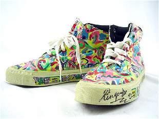 Autographed Ringo Starr's Athletic Shoes