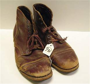 """Gary Sinese's Boots from """"Of Mice and Men"""""""