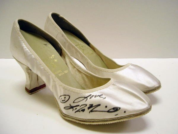 2019: Autographed Pair of Liza Minnelli's Shoes