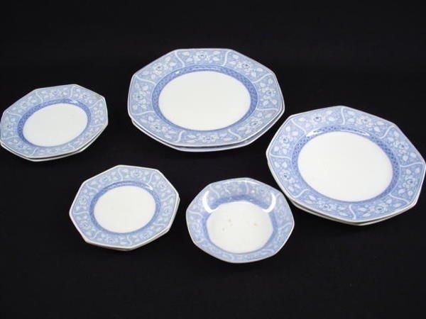 5002: Barbra Streisand Blue and White Plates