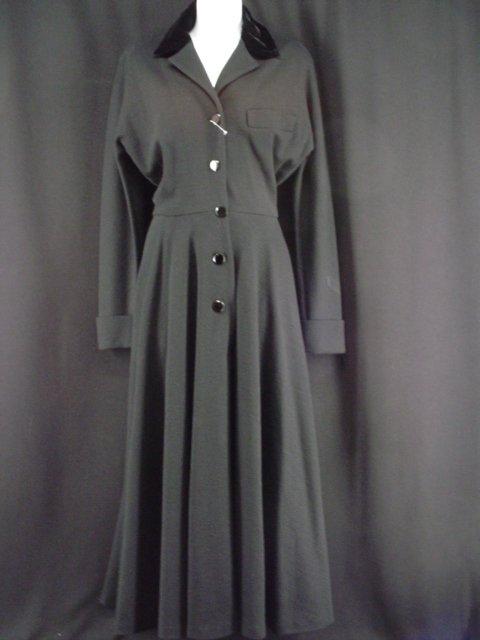 5016: Barbra Streisand Wool Dress