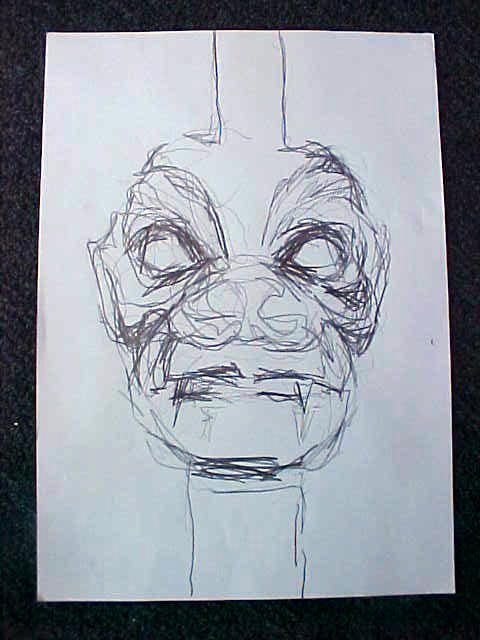 8015: Exorcist Prop Bession Sketch