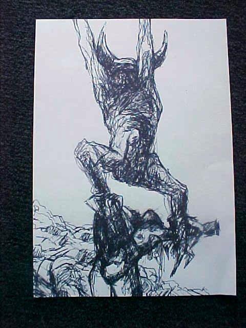 8281: Exorcist Prop Bession Sketch