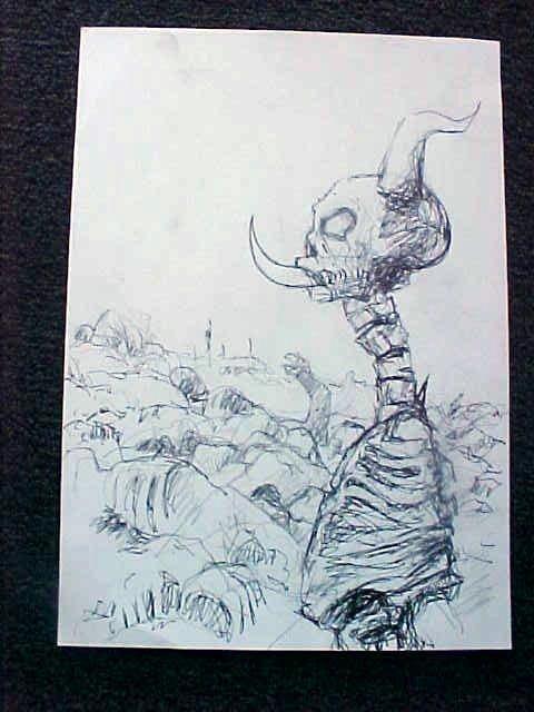 8303: Exorcist Prop Bession Sketch