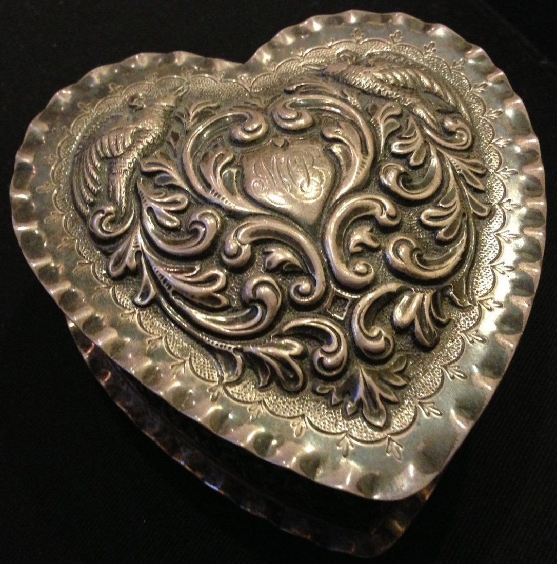 Dominick & Haff Sterling Silver Heart Box