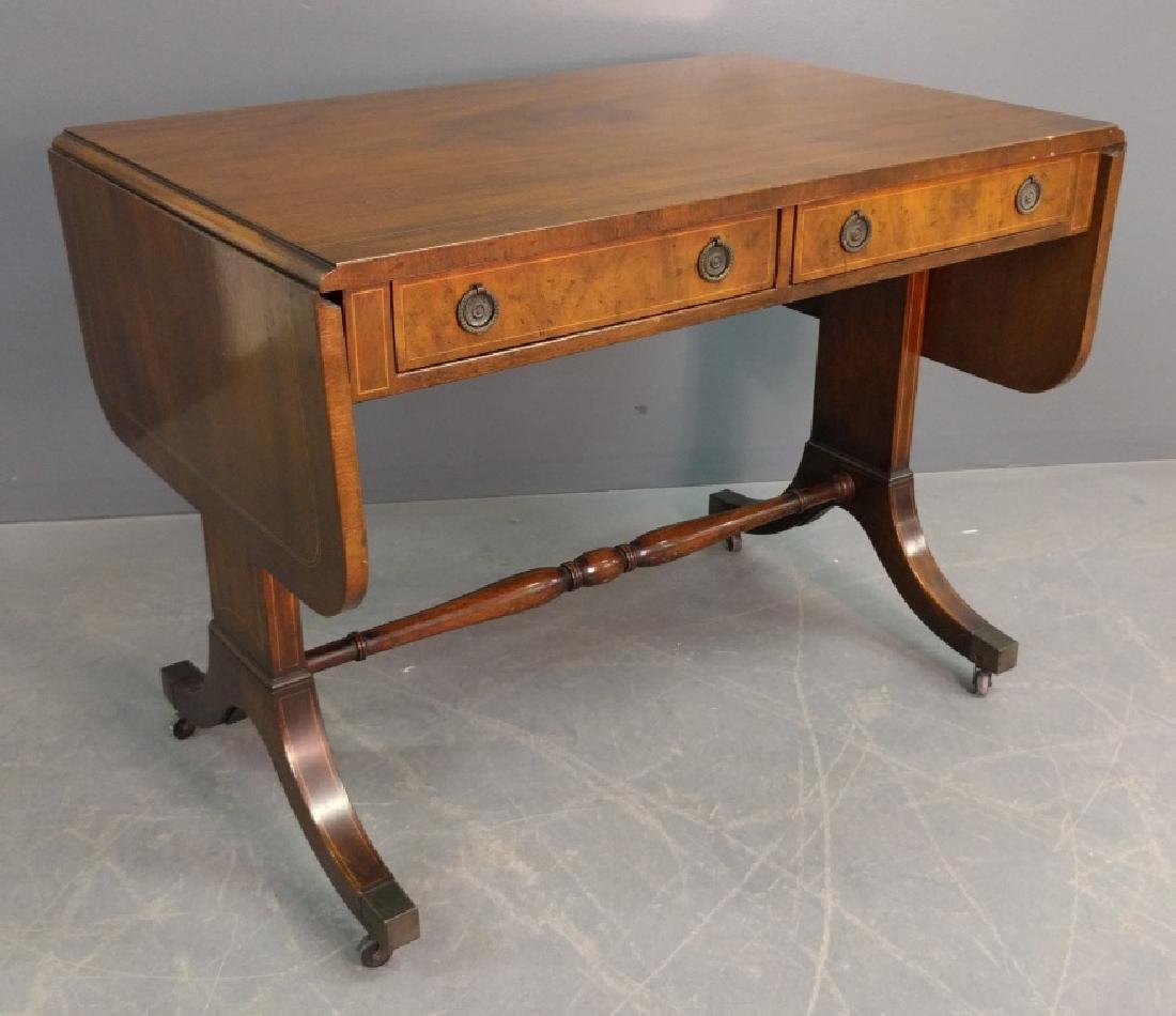 Inlaid library table