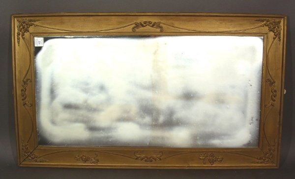 "45: Gilt framed mirror. 48""h.x27.5""w."