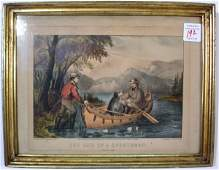 555 Currier  Ives lithograph The Life of a Sportsman